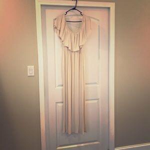Dresses & Skirts - Cream Maxi